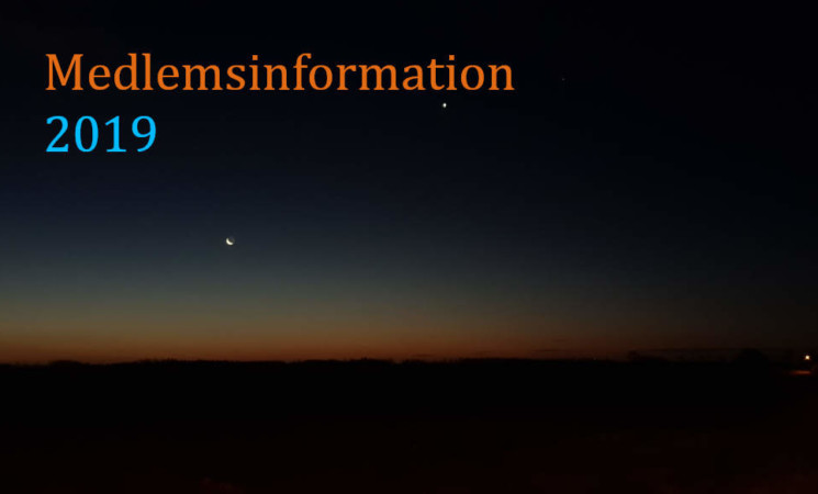 Medlemsinformation - 2019